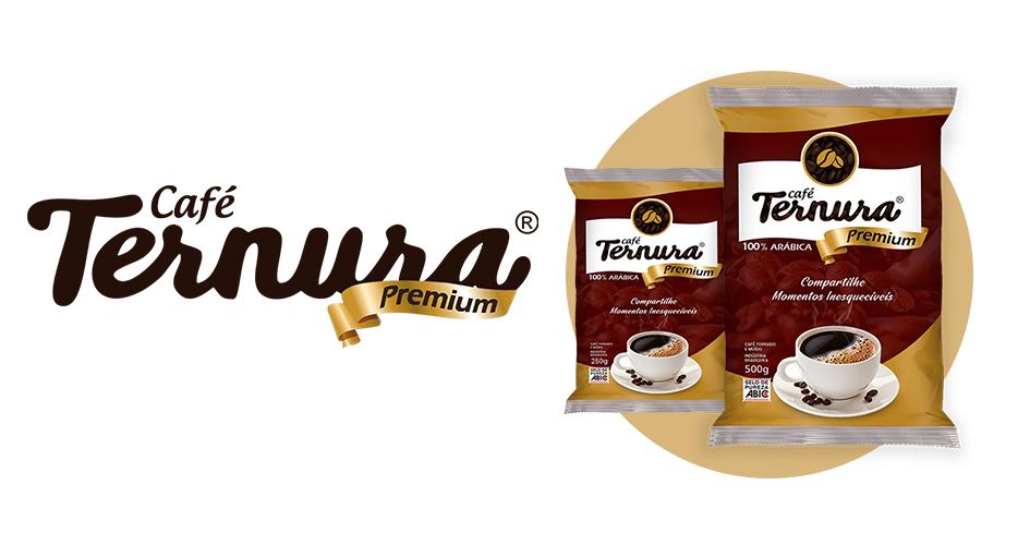 Café Ternura Premium Embalagens 500 e 250